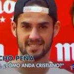 """- Jornalista: """"Isco, como anda o Cristiano Ronaldo?"""" - Isco: """"Com as pernas"""" http://t.co/9fOJjQ8NBO"""