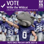 #KStateAlumni: VOTE for Willie the Wildcat for Insider Mascots Favorite College Mascot! http://t.co/WDnQd2Ml2W http://t.co/JW5cdvKEe0
