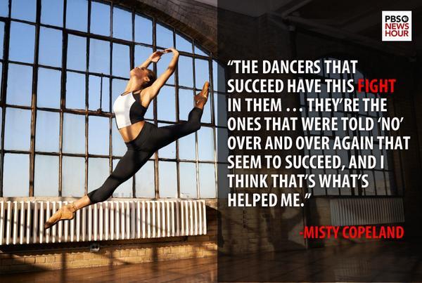 Misty Copeland (@mistyonpointe) named 1st black principal ballerina at American Ballet Theater http://t.co/JkIpMNKNug