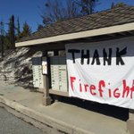 Sign at entrance to Broadview where fire destroyed homes. #SleepyHollowFire @KIRO7Seattle http://t.co/r4vFlwTv1o