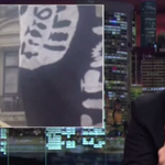 John Oliver rips CNN after they mistake flag covered with sex toys for ISIS flag http://t.co/xyEl9QIXE0 http://t.co/Al6ksvmxKn