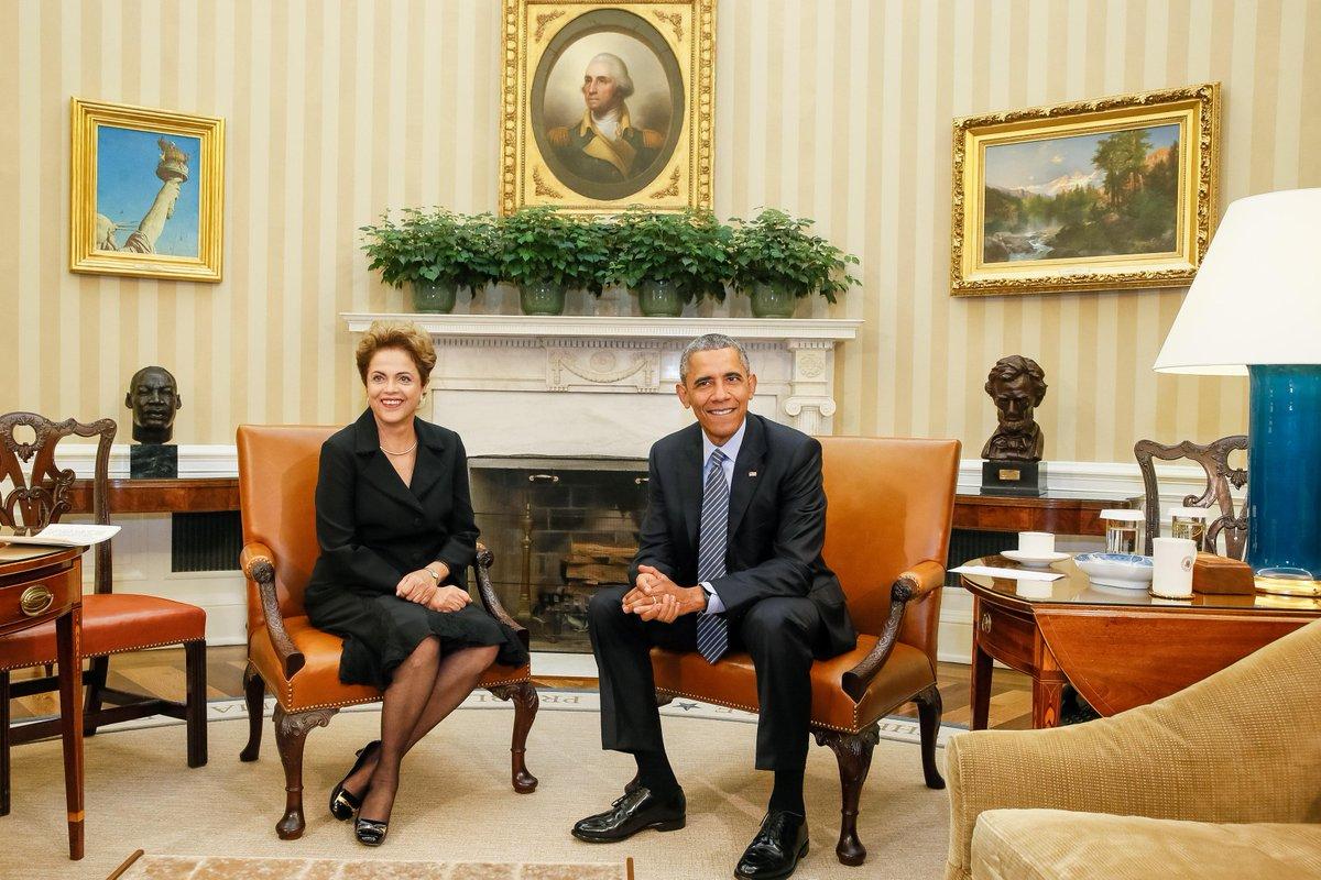 Comunicado Conjunto da Presidenta Dilma Rousseff e do Presidente Barack Obama – Washington http://t.co/fYOGUALO7j http://t.co/nGR4JUVzjs