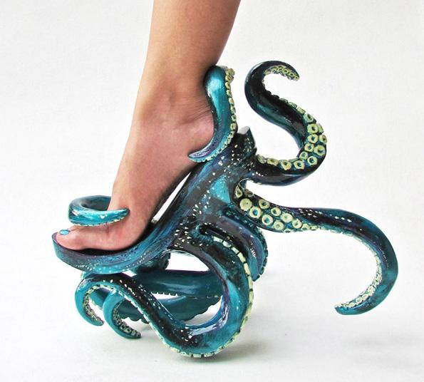 Now You Can Strut On Tentacles With These Octopus High Heels http://t.co/H3rcfgoNO7 http://t.co/beUw38JGZ9
