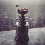 Welcome home. #StanleyCup #chicagoblackhawks #Chicago #Chitown @NHLBlackhawks @ChooseChicago @SkydeckChicago http://t.co/ahisLDg5Jf