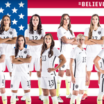 #USWNT lineup for tonights game! #USAvGER at 7 p.m. ET on @FOXTV & @NBCUniverso #Believe #OneNationOneTeam http://t.co/dBISWGPYrv