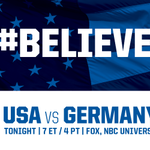 Super excited to watch the #USWNT play the #WWC2015 semifinal tonight. We are all supporting you !! #Believe http://t.co/xmRK5ewqBe