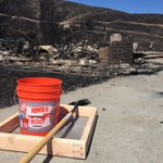 Bucket, shovel, sifter dropped off at each destroyed home. #SleepyHollowFire @KIRO7Seattle http://t.co/dPUJE1JPR0