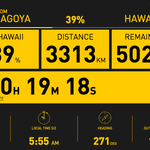 After 2 days flying, @andreborschberg flew 3313 KM in directions of Hawaii to prove #futureisclean http://t.co/nDriKSyOcB
