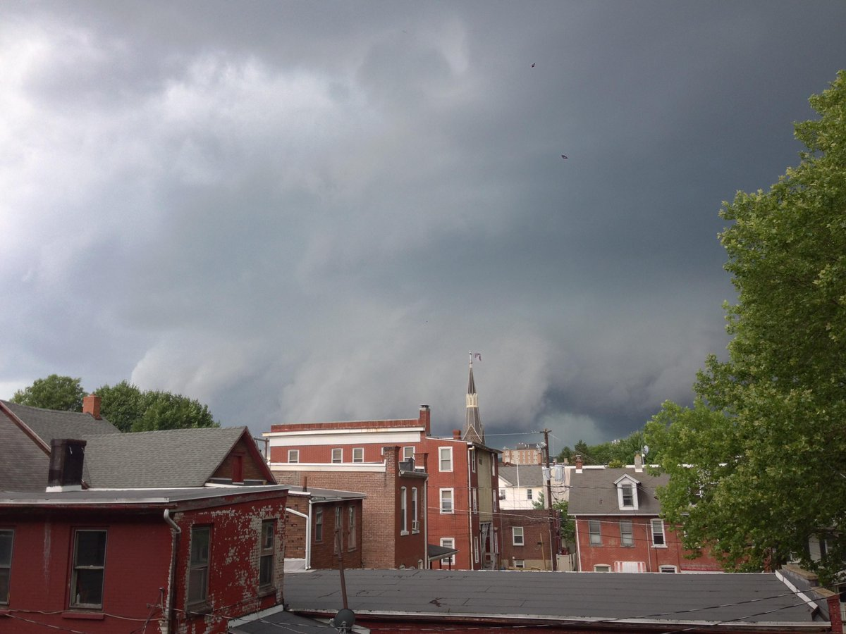 """Coworkers: """"There's a tornado coming our way."""" Me: *Sets up time lapse camera.* http://t.co/aJITjvyqw7"""