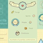 Freebie: Cute icons and avatars for kids and girls http://t.co/V9K9VxjMd6 http://t.co/efYswbdojo