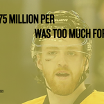 Dougie Hamilton signs for 6 years, 5.75 million per year in Calgary http://t.co/q38n0g71rr http://t.co/G2kwPoqPue
