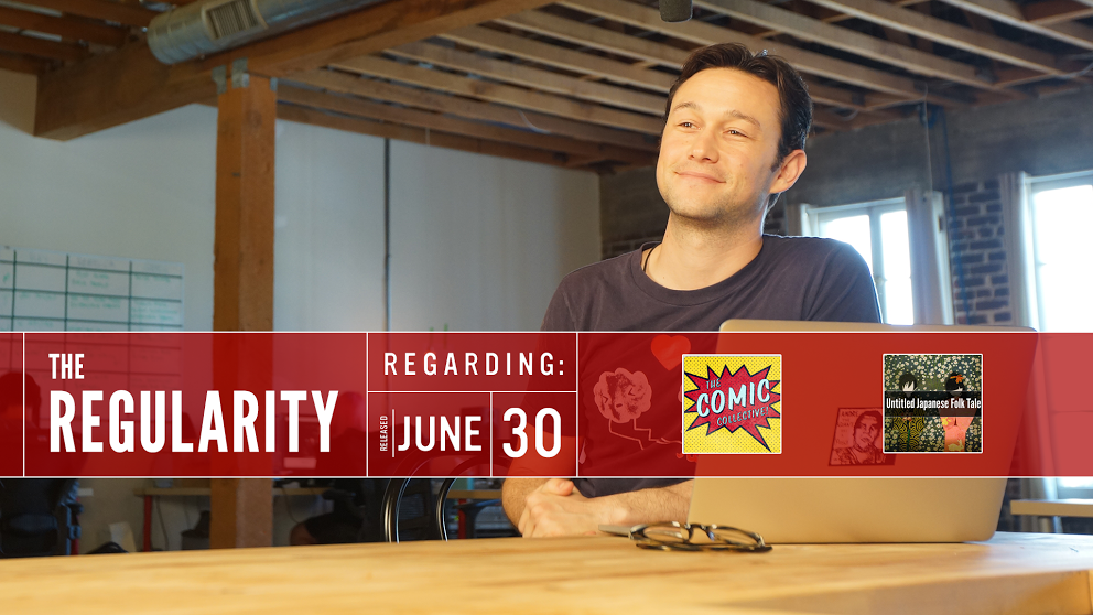 RT @hitRECord: You know what today needs? A brand new #Regularity. Tune in here: http://t.co/5pTjiw91zI http://t.co/FhrgtngpFH