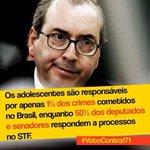 Alguma coisa está fora da ordem! #VotoContra171 #ReducaoNaoESolucao #ForaCunha http://t.co/WfksB1OfCz