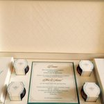 RT @dnaAfterHrs: #ShahidKapoor's wedding card. Date time and venue. Expect paparazzi IN FULL FORM. http://t.co/J1zLsHqRwT