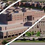 """بلغت اكثر من """"مليون وستمائة وثلانون ألف"""" متر م2 مساحة مشروع المدينة الطبية لـ #جامعة_طيبة #مرحباً_سلمان http://t.co/AZwvSgk7TU"""