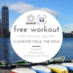 BOSTON: Free #workout every Wed in July starting tomorrow. #fituniversity #boston #fitness http://t.co/8ae74SyQGn http://t.co/7mHZcAhHZX