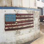 Feeling #patriotic w/ the #4th coming up? Stop & check out American Flag and CAT Panel by Brian C Walters. Price AOR http://t.co/VY5Dz8Yl4s