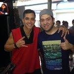¡Apoyando al pana @soyrein en su gira de medios en Cabimas! Aquí en la cabina de @xtrema98fm #VidaPositiva ????????????➕ http://t.co/7t4T6Y7pKt