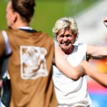 """The USA are so very convinced about themselves. Americans are naturally loud."" --Silvia Neid, coach of No. 1 Germany http://t.co/pZ46Qfl16D"