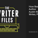 How Bestselling Author Austin Kleon Writes, Part Two http://t.co/rWkWP69Q9D #KPRS http://t.co/scfMVjnKfi