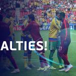 The 2015 #U21EURO final will be decided by penalties! Follow every kick: http://t.co/Sim7O3WRp2 http://t.co/ldavw7eYnb