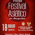 El @RMundoImperial presenta el Primer Festival Asiático en #Acapulco. http://t.co/oabSGAOzri