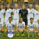The #USWNT starting XI in Montreal. Still scoreless almost midway through the first half. #USAvGER 0-0 #Believe http://t.co/lRhIEUMlWt