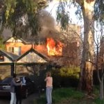 Wynn Vale residents watch their home burn as fire rips through a group of town houses #TenNews http://t.co/CggpoeszEb