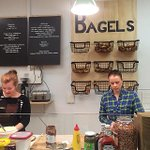 Bagels! The Beigelry is open for Trad New York style business @ Topham Mall @the_beigelry #Adelaide #bagel #safood http://t.co/ptmgWBVOd6