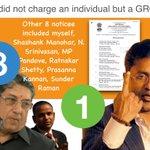 ED didn't charge an individual but a group! Others Srini, Shashank, Pandove, Shetty, Kannan @ramansundar #Lalitgate