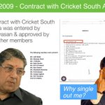 Contract with CricketSouthAfrica done by Srinivasan; approved by 11 other members. Why single me out? #lalitgate