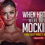 """""""When haters were busy mocking, i was busy make it happen"""" ~ @agnezmo #Celebquote http://t.co/kRx7kKTOd8"""