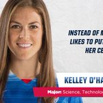 Kelley OHara is #WorldClass. The Stanford grad was the 2009 college POY. http://t.co/iQzNU5R8tt #USAvGER http://t.co/np5mxxMXSZ