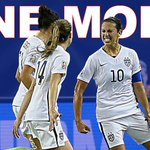 One win away! USA blanks Germany, 2-0, and moves on to WWC final for 2nd consecutive Cup. http://t.co/MRY7OUiFPk