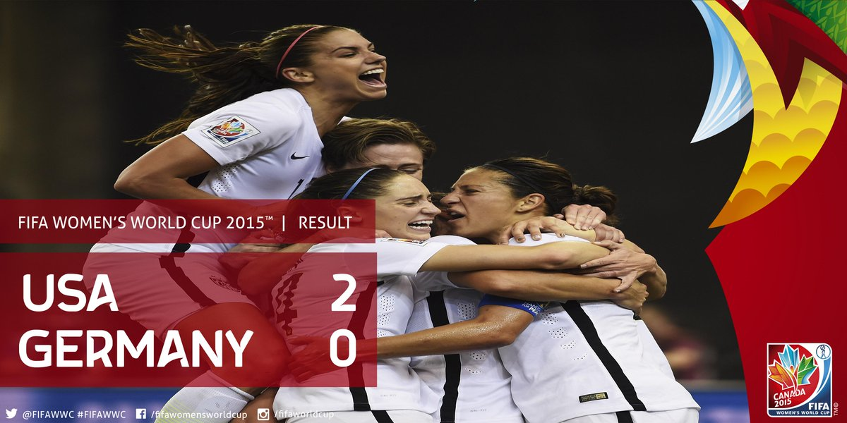 THAT'S IT! #USA are headed to their fourth #FIFAWWC final. http://t.co/cDut9poF8V http://t.co/MTDhBNSBze