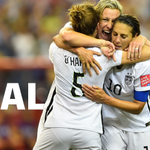 Congrats to @ussoccer_wnt!! #USWNT beat Germany to advance to the @FIFAWWC Final! #SheBelieves http://t.co/2Nzb2vTdmC #USA