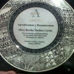 """""""@AHETA1:Socios #AHETA agradecen y reconocen a @marybmedina por dedicación como Presidenta. Gracias!!  http://t.co/gs1f7vLr7A""""MUY MERECIDO"""