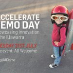 #iAccelerate Demo Day - Showcasing Innovation in the Illawarra! Free event 21st July Register: http://t.co/Y9P2MOiJ93 http://t.co/Lr3twpUEF5