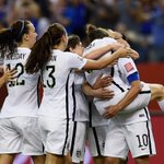 #USWNT shocks No. 1 ranked Germany, advance to Womens World Cup Final. http://t.co/qrNJdIYcJb http://t.co/Ma9w0Woy64