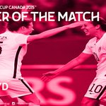 Congratulations to @CarliLloyd for winning the #LiveYourGoals Player of the Match! #FIFAWWC #USAGER http://t.co/wyRBOQgeUQ