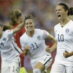 #USWNT defeats Germany to advance to the @FIFAWWC Final. http://t.co/RBj78c51K1 http://t.co/kcbfBLQHJl