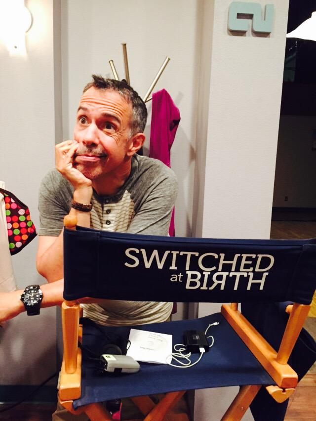 Last day on Season 4 of #SwitchedatBirth for me. Fingers crossed that @ABCFamily will give us a Season 5! http://t.co/OZwY5xmCYY