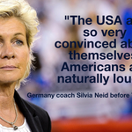 """@espn: Coach, were guessing those Americans are pretty loud right about now... http://t.co/P478yiHLDC"" Suck It Kraut....."
