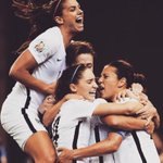 Congrats, ladies! Such a fun game to watch. #USA #playlikeagirl