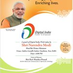 RT _hrdk: RT narendramodi: Today we are taking a landmark step in our quest to create a Digital India. http://t.co/DunYA4AFhs