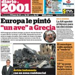 """#Titulares 2001: Eurocopa le pintó """"un ave"""" a Grecia http://t.co/Ul1cWDNy16 http://t.co/pqa6y4oRoY"""