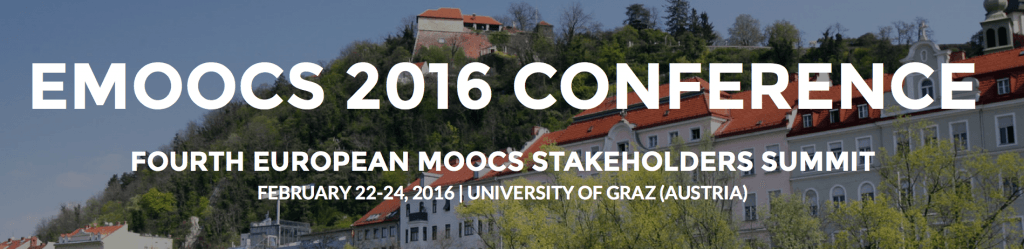 [CallForPapers] eMOOCs 2016 conference#emoos2016 http://t.co/v00s5XiiVl http://t.co/EsV345T1yD