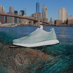 Adidas made these sneakers entirely from ocean plastic trash: http://t.co/iU9SixvqSq http://t.co/QVrZswt36s