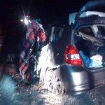 01:19 Colisión Frontal Alto Impacto. 1 FALLECIDO, 1 LESIONADO.  Ruta A5, Sector Negreiro Cerca De Huara. #iquique http://t.co/W27om69EIa