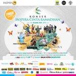 """Fix dateng ah :D """"@infobandung: Today! Konser #InspiraCintaRamadhan OpenGate on 09.00-21.00 WIB at BalKot Bdg! http://t.co/wb0hVixwDe"""""""